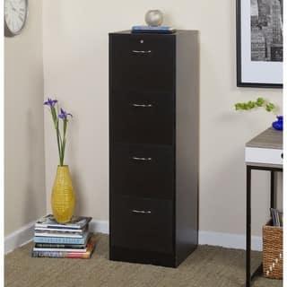 Simple Living Wilson Filing 4 Drawer Cabinet
