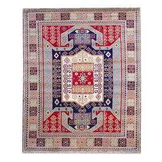 Herat Oriental Indo Hand-knotted Kazak Wool Rug (6' x 9')