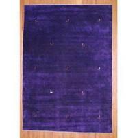 Handmade Herat Oriental Indo Gabbeh Wool Rug - 8' x 10' (India)