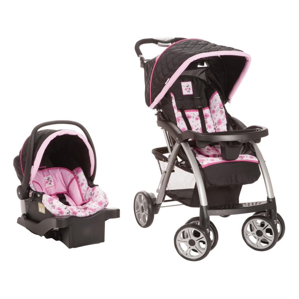 Safety 1st Saunter Luxe Travel System in Minnie Mouse Flo...