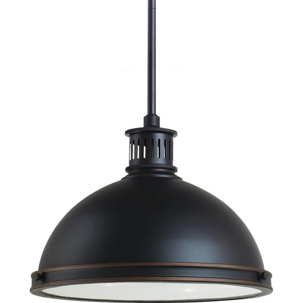 Street Light Diffuser: Shop Pratt Street Metal 2-light Autumn Bronze Pendant With