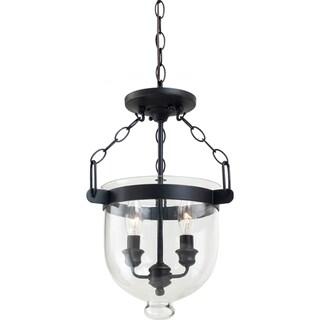 Westminster Autumn Bronze 2-Light Indoor Semi-Flush Convertible Light Fixture