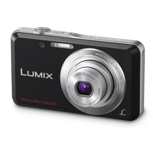 Panasonic Lumix DMC-FH4 14.1MP Black Digital Camera