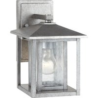 Trasitional 1 light brushed nickel outdoor wall lantern free hunnington weathered pewter 1 light outdoor wall fixture workwithnaturefo