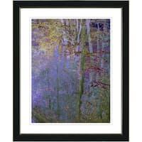 Studio Works Modern 'Summer Forest - Evening' Framed Art Print