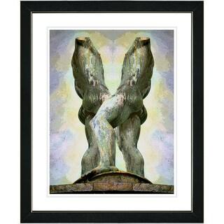 Studio Works Modern 'Statue - II' Framed Art Print