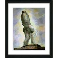 Studio Works Modern 'Statue - I' Framed Art Print