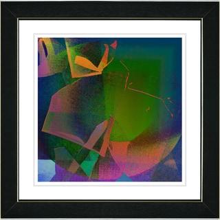 Studio Works Modern 'Sonata - Orange' Framed Art Print