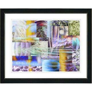 Studio Works Modern 'Veggie Mix - III' Framed Art Print