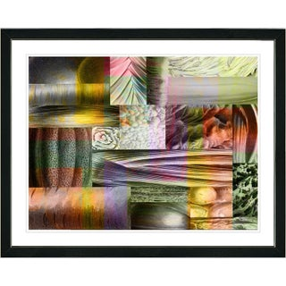 Studio Works Modern 'Veggie Mix' Framed Fine Art Giclee Print