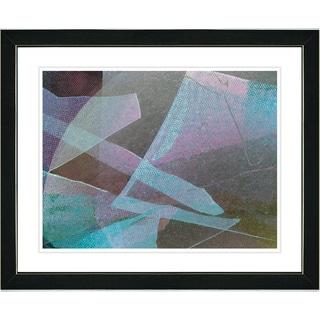 Studio Works Modern 'Balabosta - Turquoise' Framed Art Print