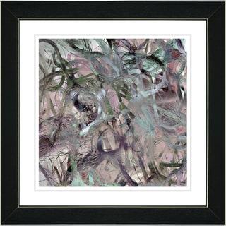 Studio Works Modern 'Tangle - Mauve' Framed Art Print