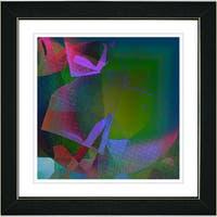 Studio Works Modern 'Sonata - Pink' Framed Art Print