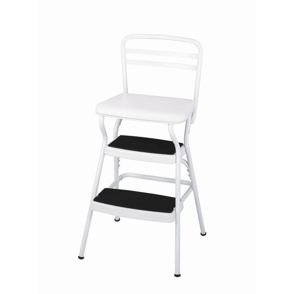 Cosco Retro Counter Lift Up Chair / Step Stool  sc 1 st  Overstock.com & Cosco Retro Counter Lift Up Chair / Step Stool - Free Shipping ... islam-shia.org