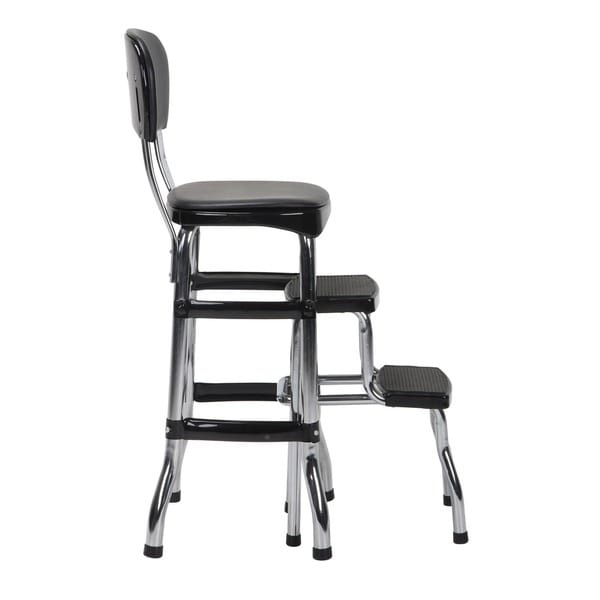 Cosco Retro Counter Chair / Step Stool   Free Shipping Today    Overstock.com   15388206