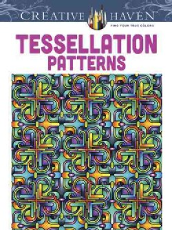 Tessellation Patterns Adult Coloring Book (Paperback)