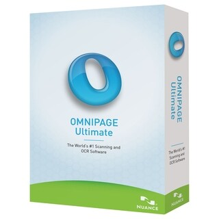 Nuance OmniPage Ultimate - Complete Product - 1 User - Standard