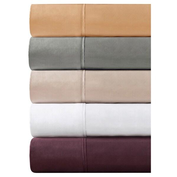 madison park 600 thread count pima cotton sateen 4piece sheet set - Pima Cotton Sheets