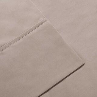 Madison Park 600 Thread Count Pima Cotton Sateen 4-piece Sheet Set