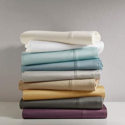 Madison Park 600 Thread Count Pima Cotton Sateen Sheet Set