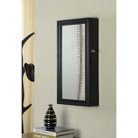 Black Wall Armoire