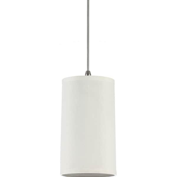 Sea Gull Lighting 1-Light Cream Silk Dupion Finish Mini Pendant