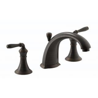 Kohler Devonshire Deck-mount Bath Faucet Trim with Lever Handles