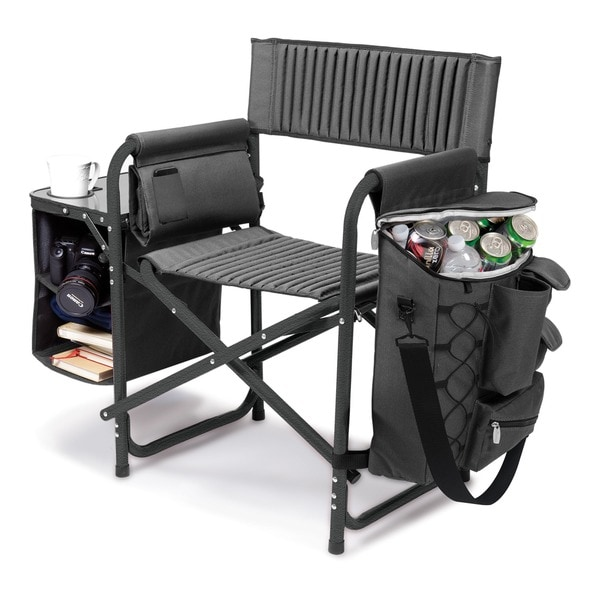 picnic time fusion collapsible storage chair - free shipping today