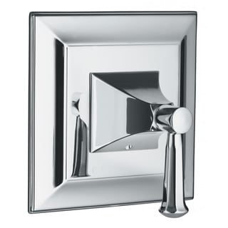 Kohler Memoirs Thermostatic Valve Trim with Stately Design and Lever Handle