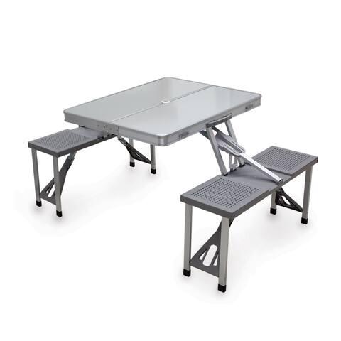 Aluminum Foldable/ Packable Picnic Table