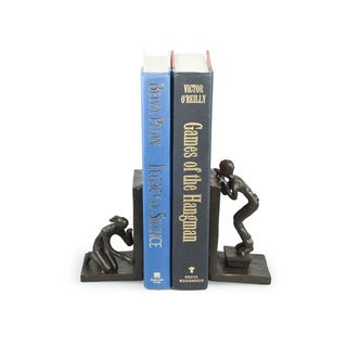 Peek-a-Boo Metal Bookend Set