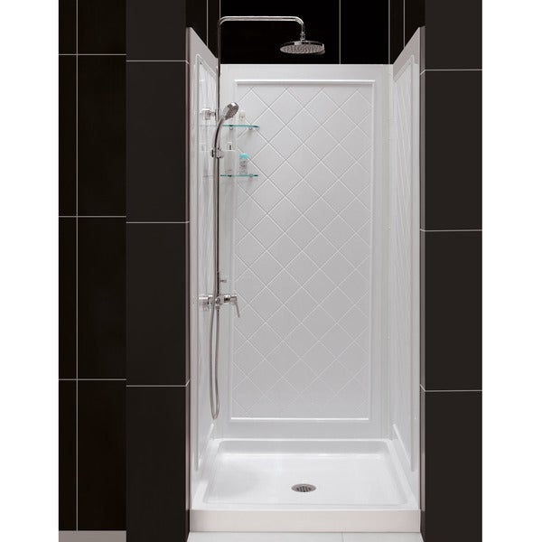 Shop Dreamline Qwall 5 Shower Backwall Kit Free Shipping