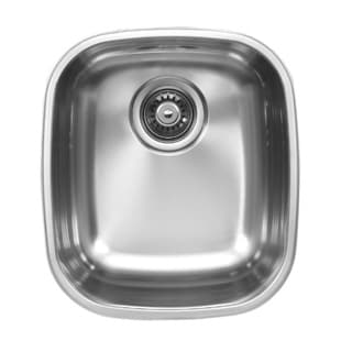Ukinox D345.10 Single Basin Stainless Steel Undermount Kitchen Sink