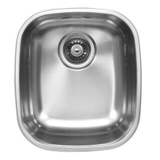 Ukinox D345.8 Single Basin Stainless Steel Undermount Kitchen Sink