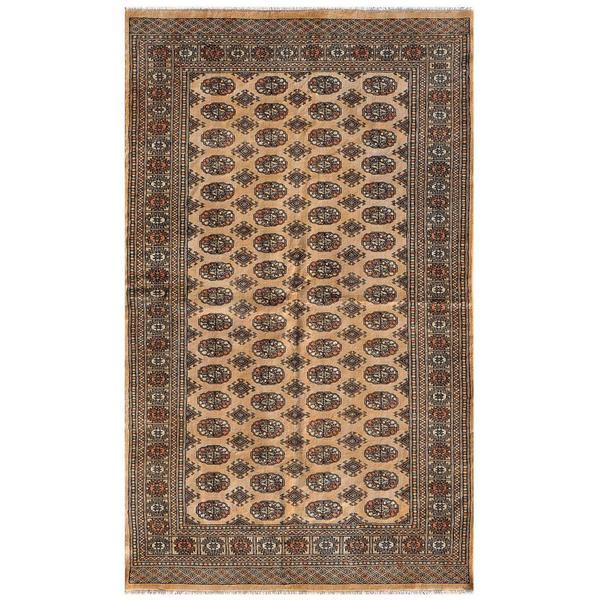 Herat Oriental Pakistani Hand-knotted Bokhara Wool Rug (5'1 x 8'4)