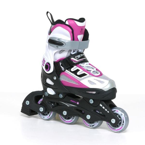 5th Element Girls G2-100 Black/ Pink Inline Skates