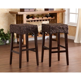 The Curated Nomad Belize Counter Height Stool (Set of 2)