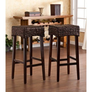 Harper Blvd Dunmoor 30-inch Bar Stool (Set of 2)|https://ak1.ostkcdn.com/images/products/8029242/Upton-Home-Dunmoor-30-inch-Bar-Height-Stool-Set-of-2-P15390496.jpg?impolicy=medium