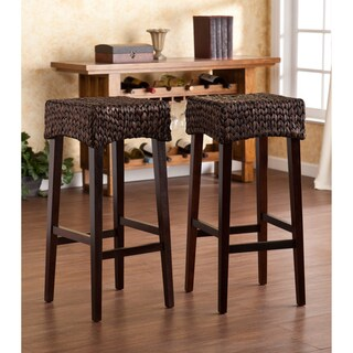 The Curated Nomad Belize 30-inch Barstool (Set of 2)