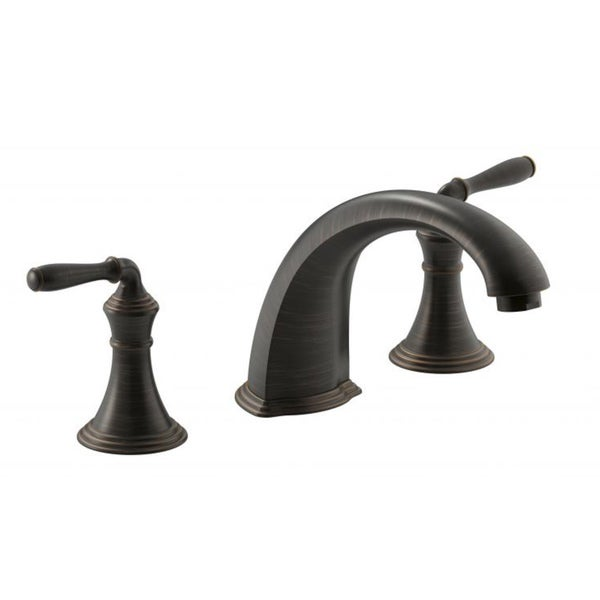 Shop kohler devonshire deck rim mount bath faucet trim 9 - Kohler two tone bathroom faucets ...