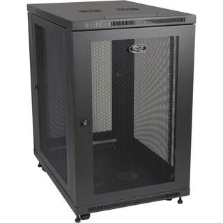 "Tripp Lite 18U Rack Enclosure Server Cabinet 33"" Deep w/ Doors & Side"
