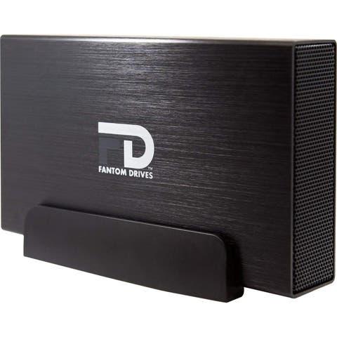 Fantom Drives 1TB External Hard Drive - 7200RPM USB 3.0/3.1 Gen 1 + eSATA + FireWire 800/400 Aluminum Case - Mac, Windows, PS4,