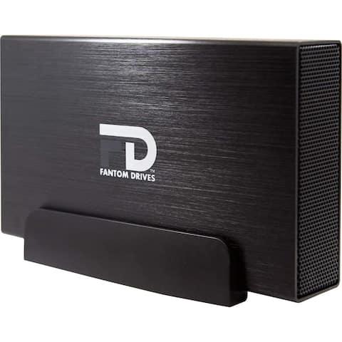 Fantom Drives 2TB External Hard Drive - 7200RPM USB 3.0/3.1 Gen 1 + eSATA Aluminum Case - Mac, Windows, PS4, and Xbox