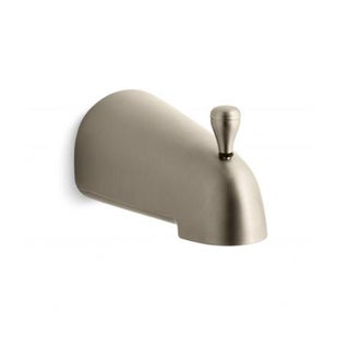 Kohler Devonshire Diverter Vibrant Brushed Bronze Bath Spout with NPT Connection