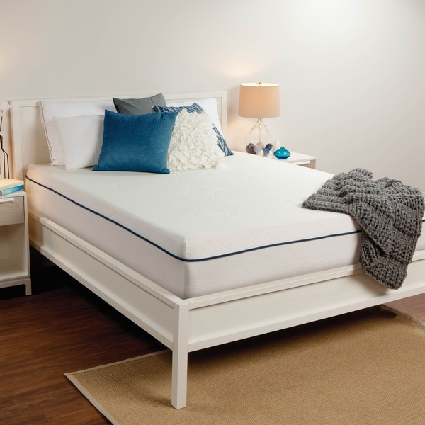 Shop Sealy 10 Inch King Size Memory Foam Mattress Free