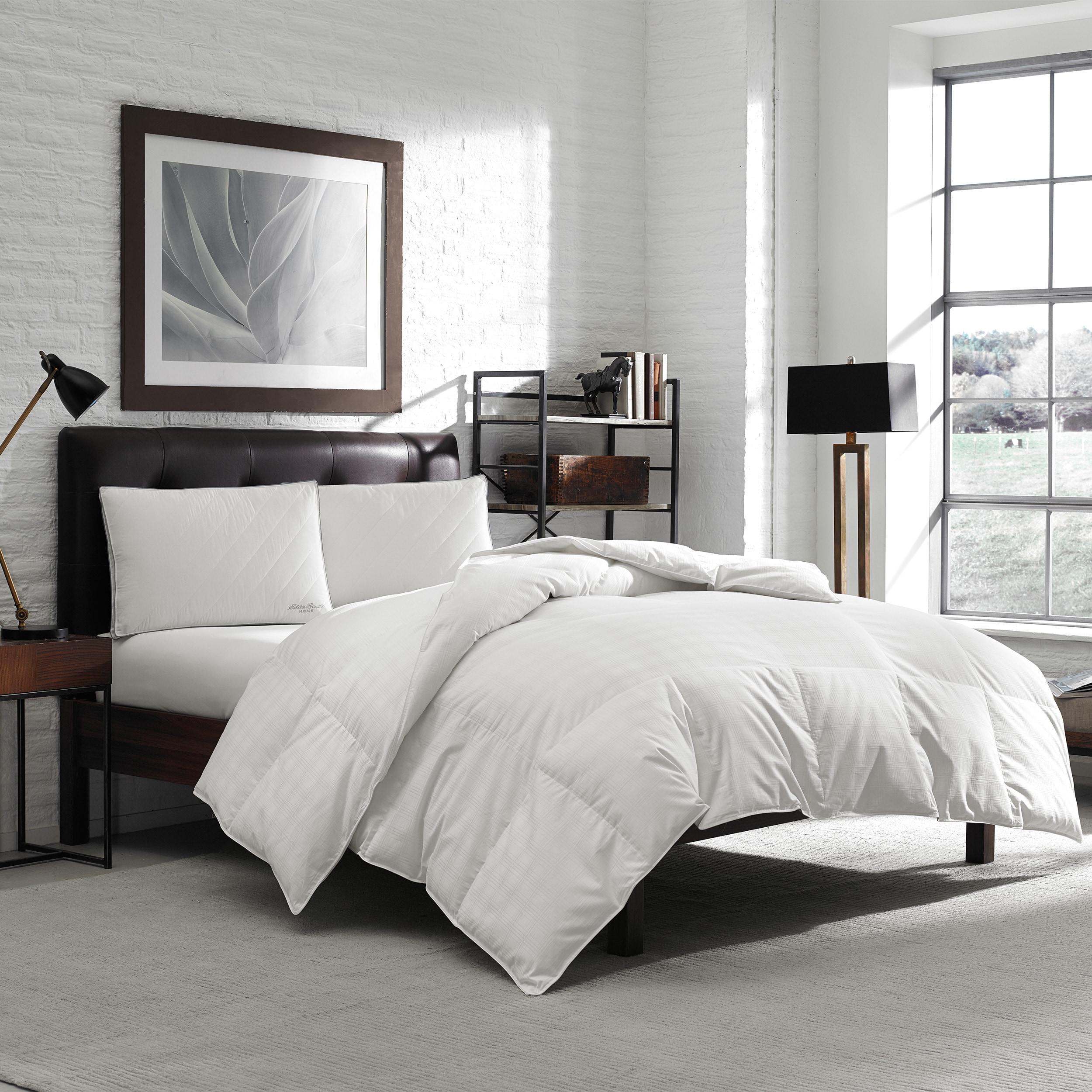 Eddie Bauer 650 Fill Power Oversize White Down Comforter ...