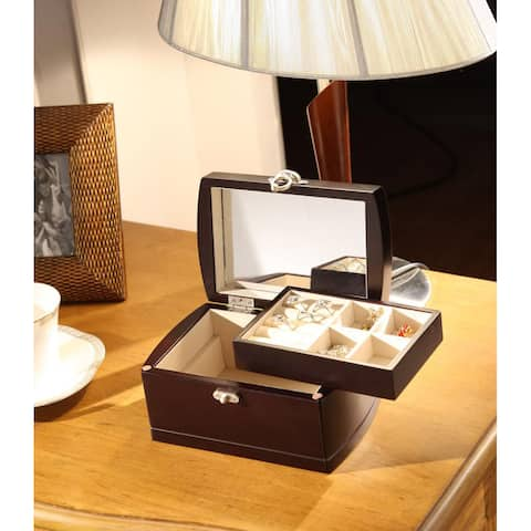 Treasure Chest Dual Layer Jewelry Box