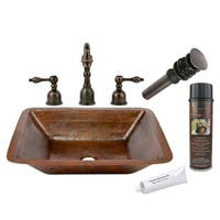Premier Copper Products LREC19DB/ Widespread Faucet Package