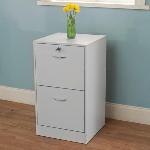 Simple Living Wilson 2-drawer Filing Cabinet