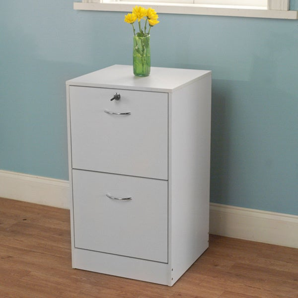 Simple Living Wilson 2-drawer Filing Cabinet. Opens flyout.